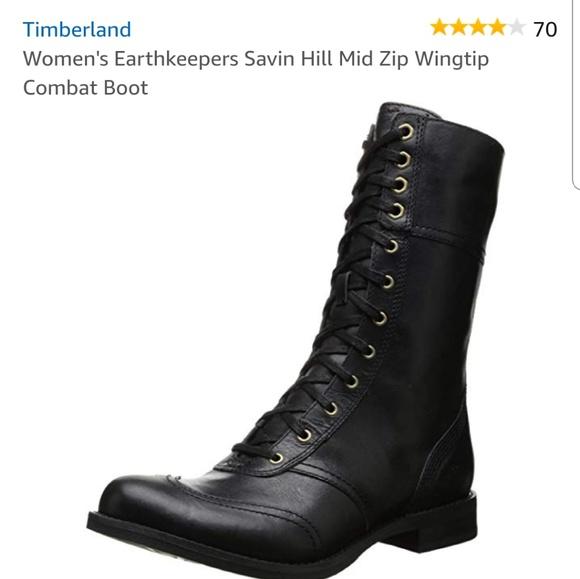 Timberland Wingtip Combat Boot. M 5bb2d65ec89e1ded546ea672 a964e809a